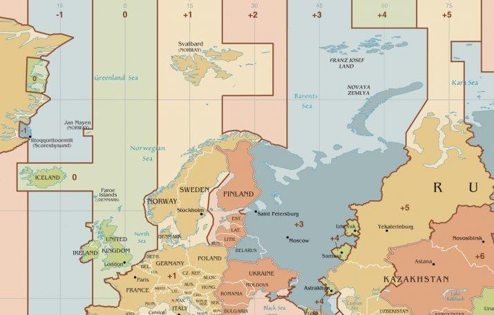 Часовой пояс Беларусь