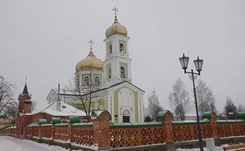 Мстиславль снежный